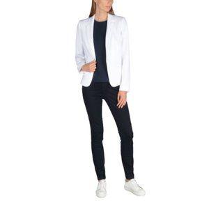 Armani Exchange White Single Button Blazer 2
